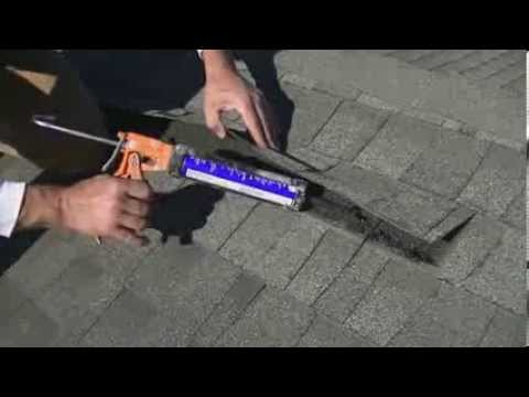 How To Remove and Repair Composite Shingles  By: Everything Home TV