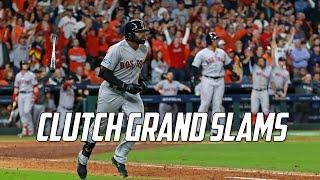 MLB | Clutch Grand Slams | Part 2