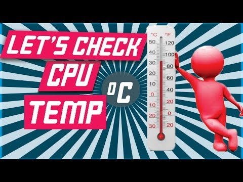 how to check the temperature of CPU(processor) | How to check Computer Temperature | Techtubic