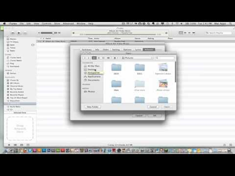 How To Add Album Art To Your Songs In iTunes (EASY)