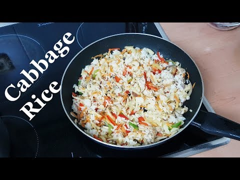 Cabbage Fried Rice   All Nigerian Recipes