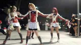 Negi vlogs a part of the love love gathering at AX!