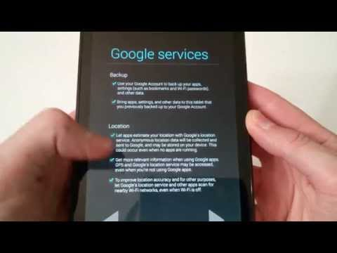 Nexus 7 Factory Data Reset Backup & Restore