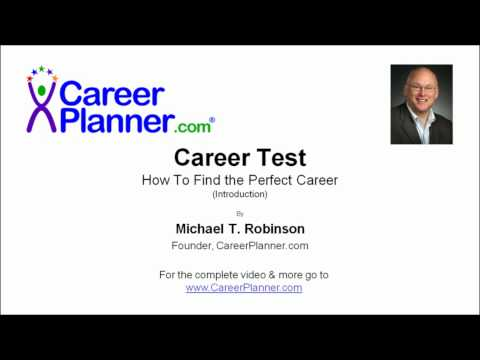 Career Test Video - How To Find The Perfect Career