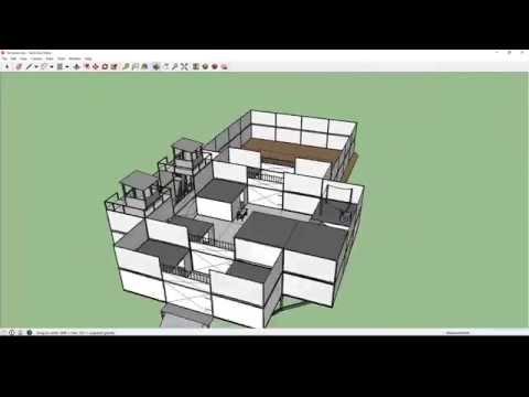 FARMING Base Design !!Medium!! [H1Z1] (Sketchup)