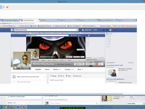How to make Awesome Facebook Timeline Cover Photo