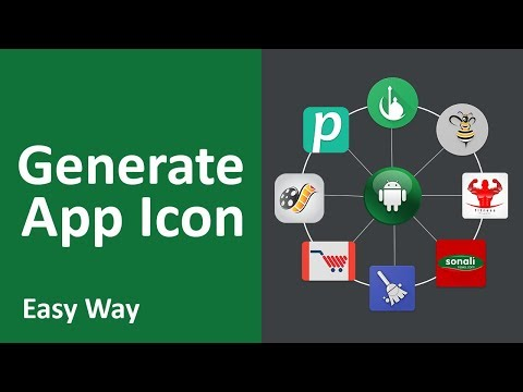 How to generate app icon for android app