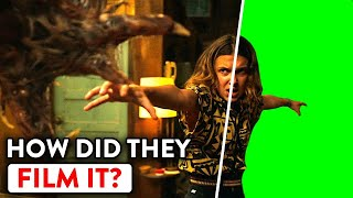 What Stranger Things Really Looks Like Without CGI & VFX |🍿 Ossa Movies
