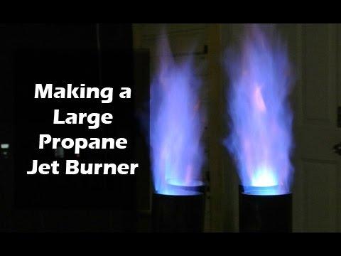 Make a Propane Jet Burner - Super Sized for Wok, Seafood Boil, Turkey fryer, Home Brewing