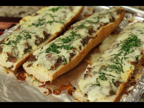 French Bread Pizza - The Love Pizza by Rockin Robin