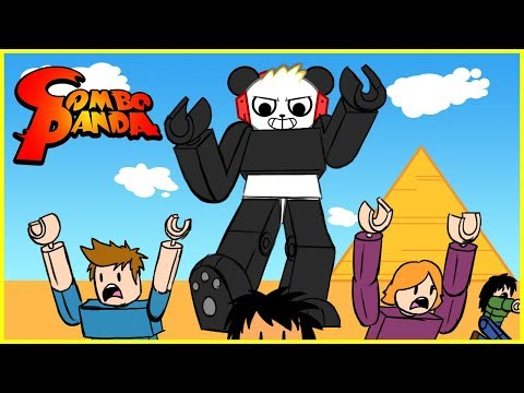 Roblox Battle as a GIANT BOSS Let's Play with Combo Panda