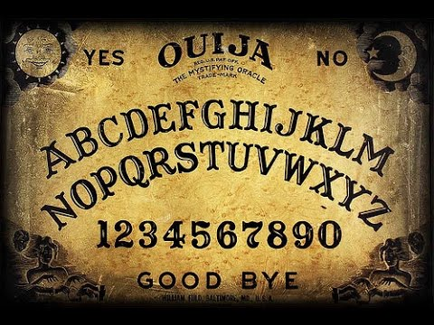 How To Make A Homemade Ouija Board That Should Work!