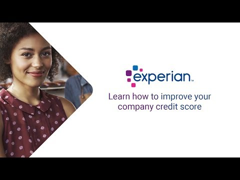 Learn how to improve your company credit score