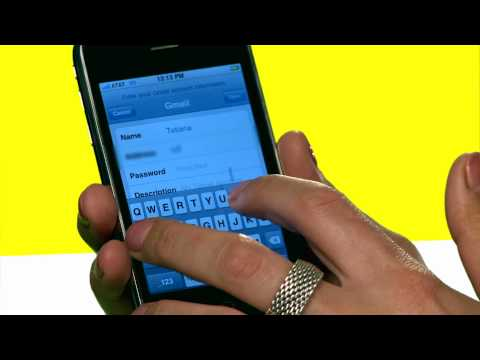 iPhone Tips: Set Up Email
