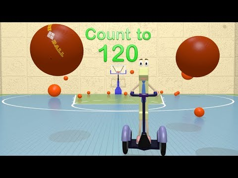 Counting to 120 - First Grade Math Videos for Kids