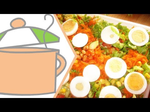 How to Make Nigerian Salad | All Nigerian Recipes
