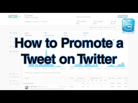 How to Promote a Tweet on Twitter