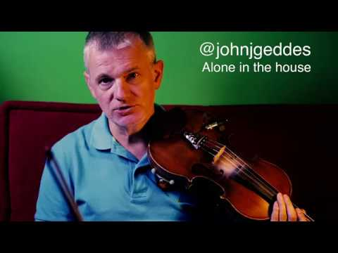 Alone in the House - A musical Improvisation on a poem by @johnjgeddes
