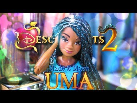 Xxx Mp4 DIY How To Make Made To Move Disney Descendants 2 Uma Custom Doll 3gp Sex