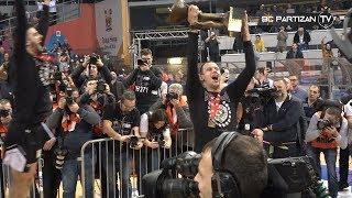 BC Partizan TV: Partizan NIS - Crvena zvezda - derbi u finalu Kupa Radivoj Korać | drugi čin