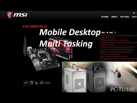 Mulit tasking pc - Cheap Fast  Reliable - Easy to build!