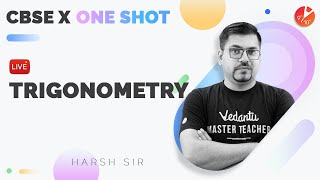 TRIGONOMETRY Class 10 in One Shot (Complete Chapter)   CBSE 10 Math Chapter 8 [Term 1 Exam] Vedantu