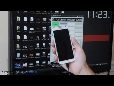 AT&T Galaxy Note 2 Leaked Android 4.3 TouchWiz  ~ How To Install