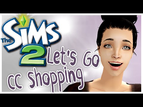 The Sims 2   Let's Go CC Shopping #1   Clothes!
