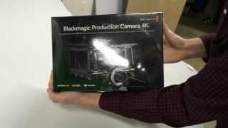 Unboxing the Blackmagic Production Camera 4K