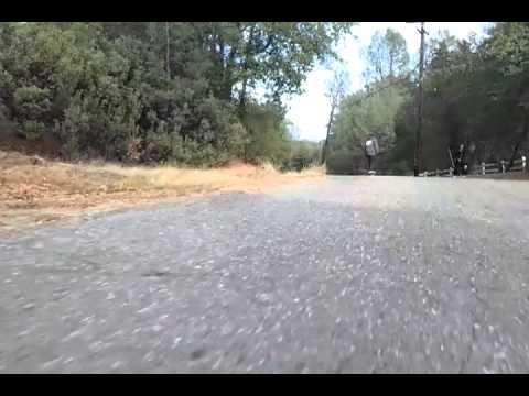 Skateboard fail speed wobbles