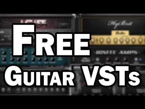 Free Guitar VST Plugins – Guitar Amp Simulation for DI Recording