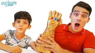 Jason Jokes around with Invisibility Cloak! Funny Kids video by FunToysMedia!