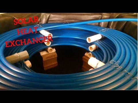 Heat Exchanger for Solar Hot Water Tank