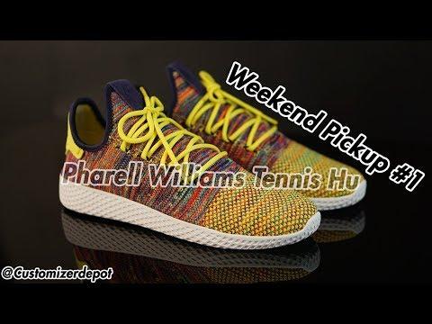 Pharrell Williams Tennis Hu - Weekend Pickups #1 (sneaker review)