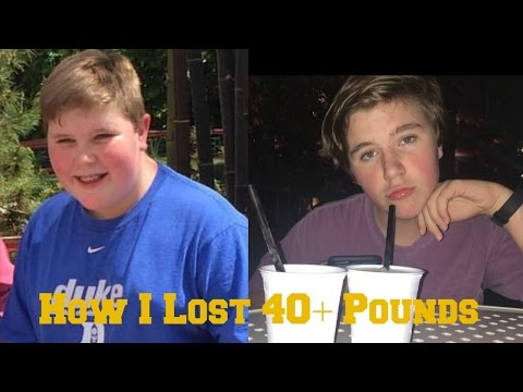 How To Lose Weight Easy For Teens (Losing 40+ pounds)