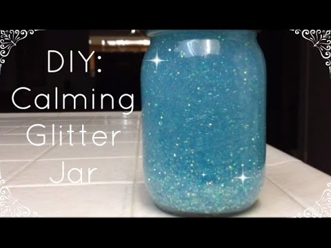 DIY Calming Glitter Jar ♡ | MsXialin