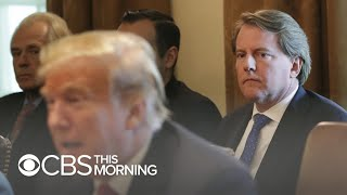 Trump says White House aides should not testify to Congress