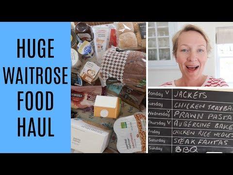 HUGE Waitrose haul | Mrs Rachel Brady | Real family. Real food.