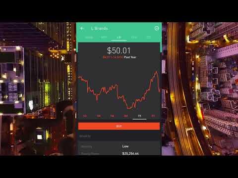 Buy and Selling Stocks on Robinhood App | $100 PROFIT!