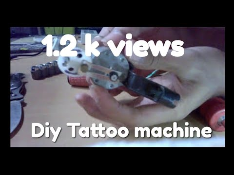 DIY Tattoo machine...(assembly link shown below...)