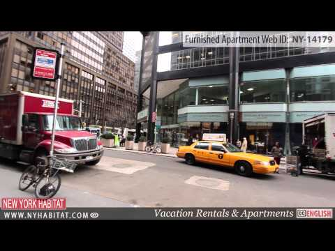 Video Tour of a Furnished Studio Apartment in Midtown East, Manhattan, New York