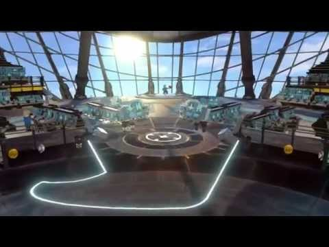 EXPLORING SHIELD'S HELICARRIER - FREE ROAM, TOUR : LEGO MARVEL SUPERHEROES PS3 PC XBOX360