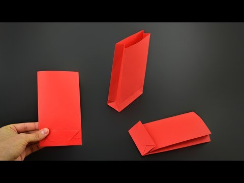 How to make a Paper Gift Bag - Version 2