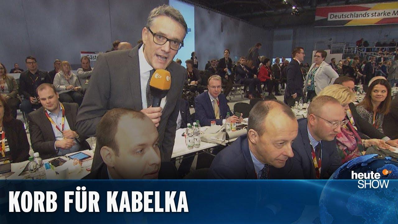 Friedrich Merz hat keinen Bock auf Ralf Kabelka   heute-show vom 29.11.2019