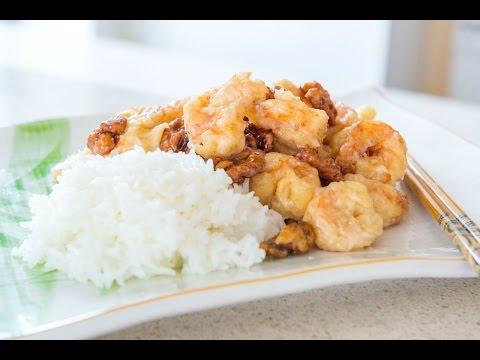 HONEY WALNUT SHRIMP - Chinese Takeout at Home!
