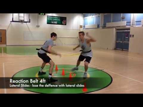 Basketball reaction and agility workouts