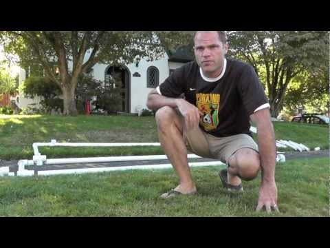 How to  make a 2x3 meter Futsal/soccer goal:  Portable,  from  PVC