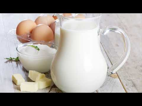 Avoid Dairy Food Products To Treat Gas Pain In Chest