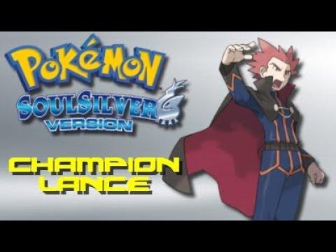 Pokemon Soul Silver: Champion Lance