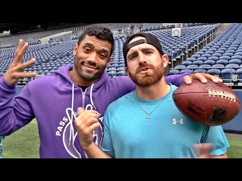 Seattle Seahawks Edition ft. Russell Wilson   Dude Perfect